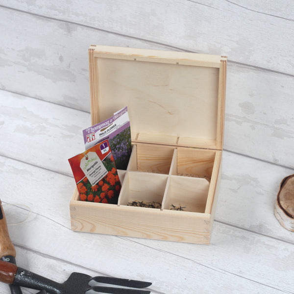 Grandad / Dad Garden Seed Box - personalised