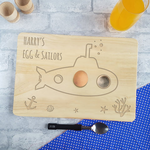 Submarine Egg & Sailors Board