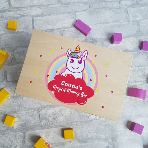 Personalised Unicorn Box
