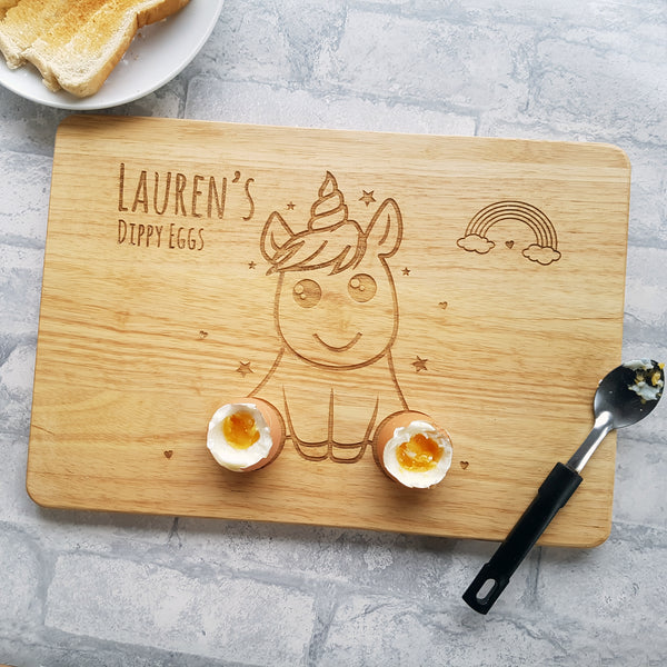 Unicorn Egg & Soldiers Board