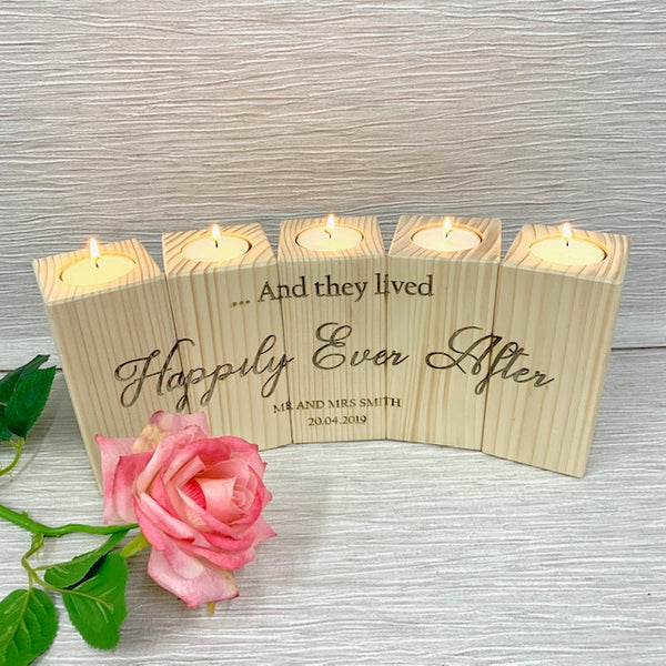 Wedding Candle Set of 5