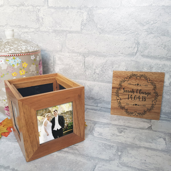 Wedding Photo Cube