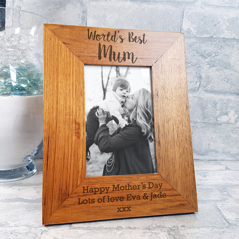 Picture frame - Worlds Best Mum