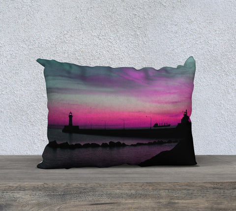 PDSC01597 Lake Superior Sunrise Teal Pink 20x14