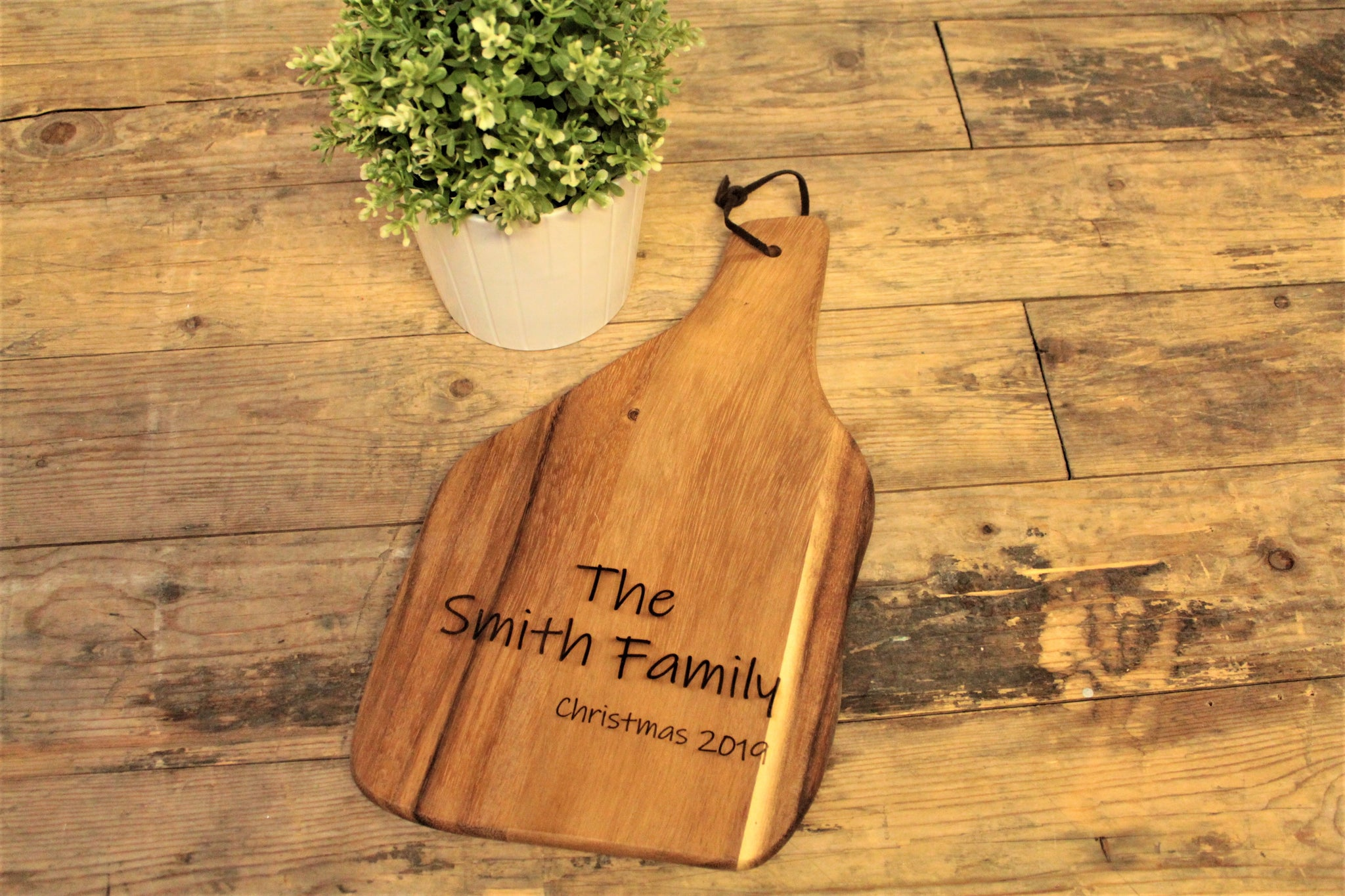 Personalised Engraved Acacia Wood Chopping Board - Free UK Delivery By Personalised For