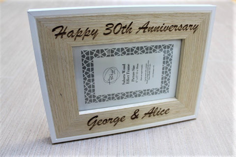 Anniversary Personalised Picture Frame - ukhomeware