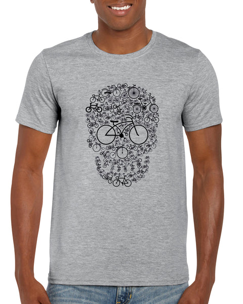 Bicycle Skull T-Shirt - ukhomeware