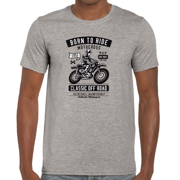 Born To Ride T-Shirt - ukhomeware
