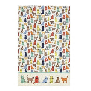 Catwalk Cotton Tea Towel - by Ulster Weavers - ukhomeware