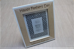 Fathers Day Personalised Picture Frame - ukhomeware