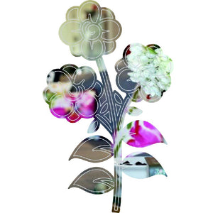 Flowers shape acrylic mirror - ukhomeware