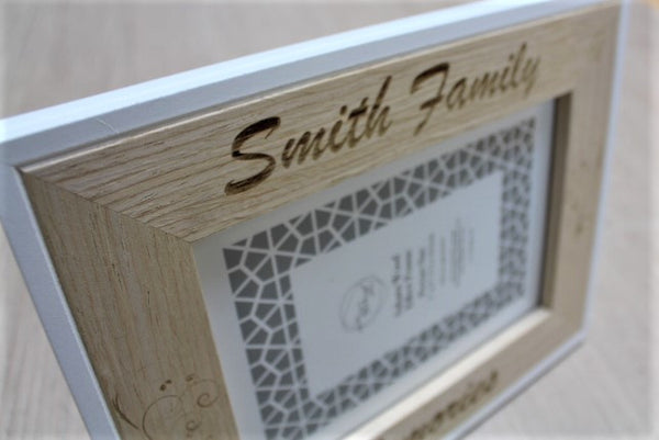 Family Memories Personalised Picture Frame - ukhomeware