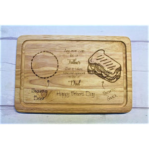 Father's Day Drinks and Treats Board - ukhomeware
