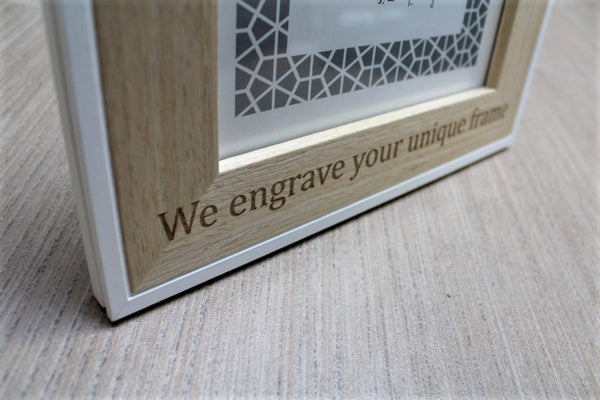 Personalised Picture Frame - ukhomeware