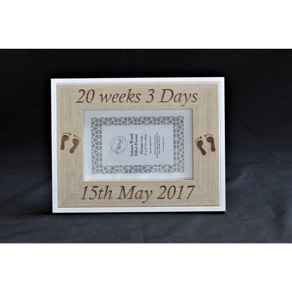 New Baby Personalised Picture Frame - ukhomeware