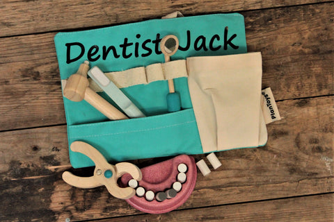 personalised dentist toy set - free uk delivery by personalise for