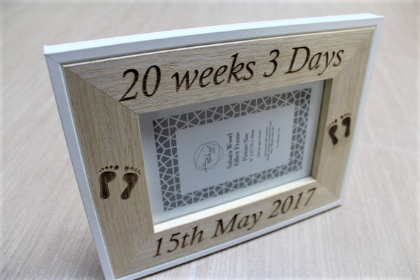 Baby Scan Personalised Picture Frame - ukhomeware