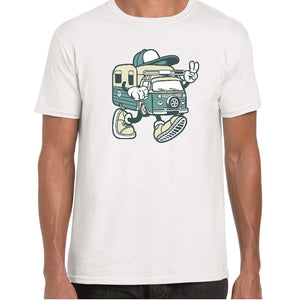 Campervan Cartoon t-shirt - ukhomeware