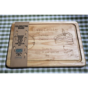 Birthday Drinks and Treats Board - ukhomeware