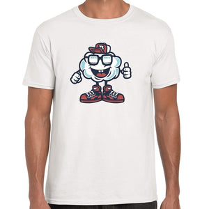 Cloud Cartoon t-shirt - ukhomeware
