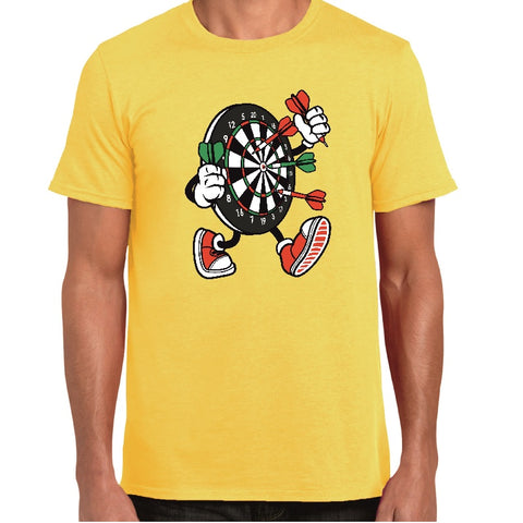Dart Board Cartoon t-shirt - ukhomeware