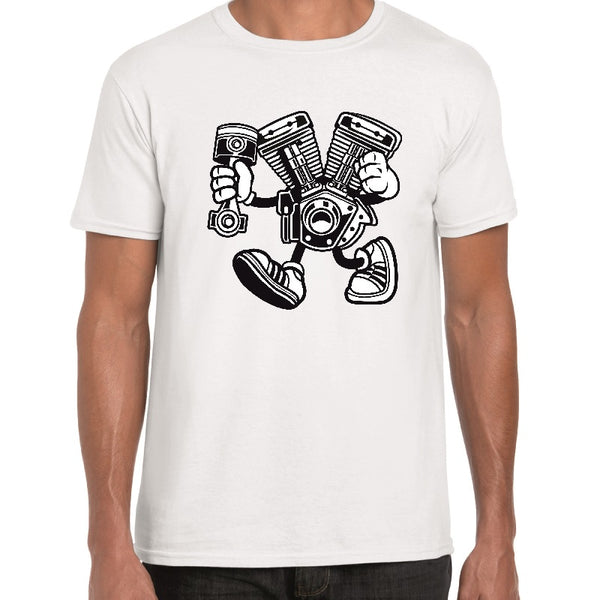 Engine Cartoon t-shirt - ukhomeware
