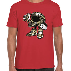 Fighter Pilot Cartoon t-shirt - ukhomeware