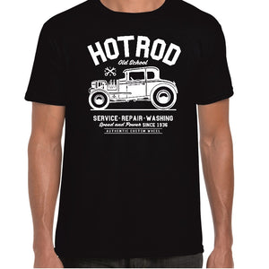 Old School Hot Rod T-Shirt - ukhomeware