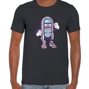 Jukebox Cartoon t-shirt - ukhomeware