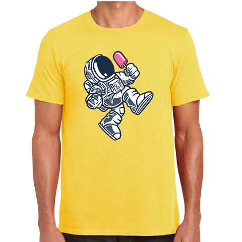 Lollipop Spaceman Cartoon t-shirt