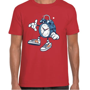 Alarm Clock Cartoon t-shirt - Personalised For