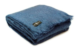 Midnight Mohair Blanket