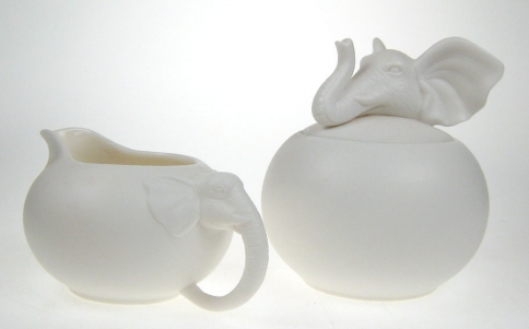 Elephant Milk and Sugar Set