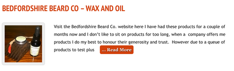 Hirsute For Happiness Bedfordshire Beard Co Review
