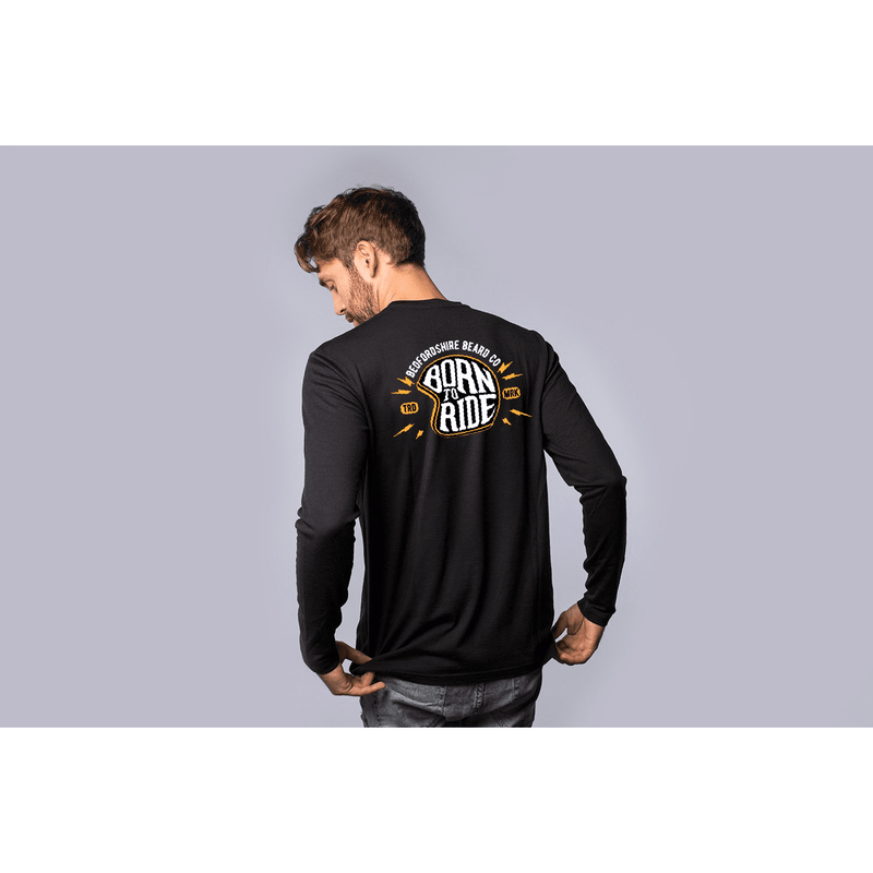 Born To Ride Long Sleeve - BedfordshireBeardCo