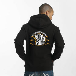 Born To Ride Hoody - BedfordshireBeardCo