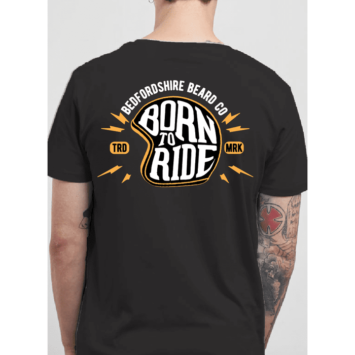 Born To Ride T-shirt - BedfordshireBeardCo