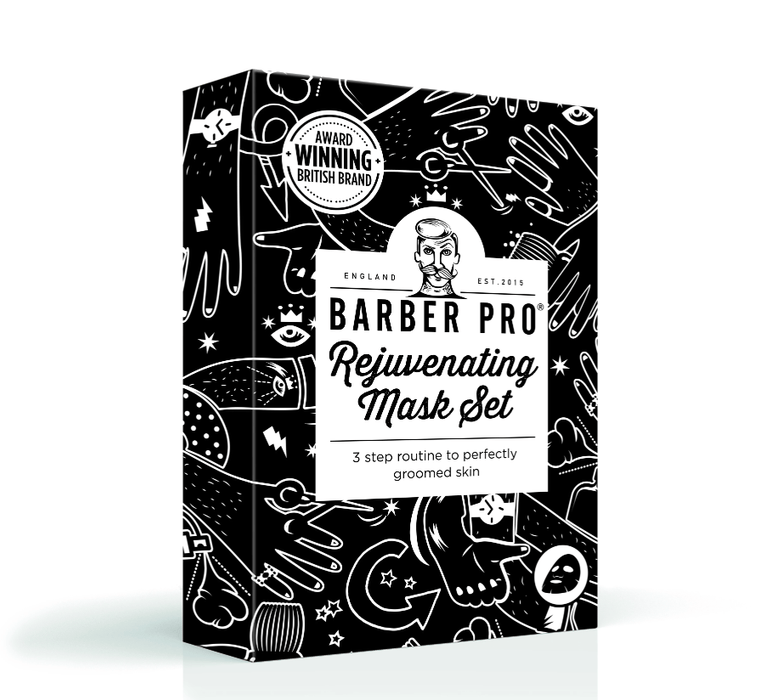 BARBER PRO Rejuvenating Mask Set - BedfordshireBeardCo