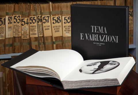 "THE ARTIST BOOK ""TEMA E VARIAZIONI"" - THE FIRST SERIES 1-100"""