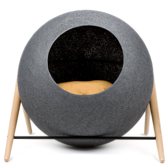 The Ball, Cat/Dog Den and Scratchpad, Dark Grey - Milk Concept Boutique