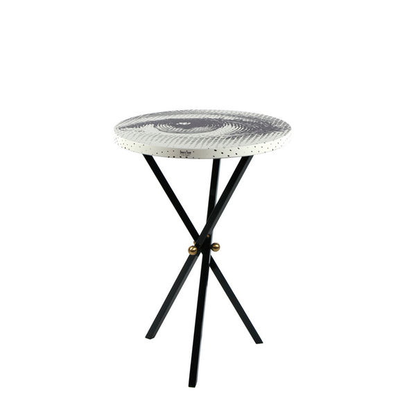 Fornasetti Table top ø36 Occhio - Milk Concept Boutique