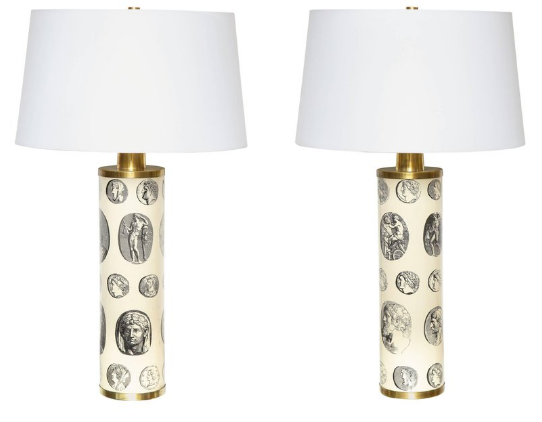 Fornasetti Conical lampshade White