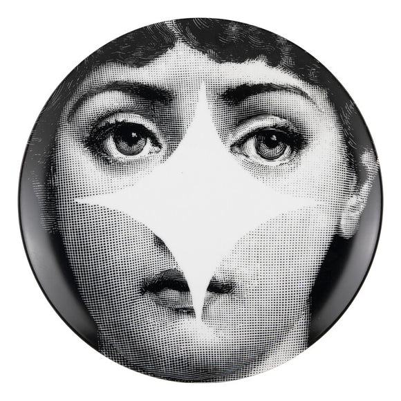 Fornasetti Wall Plate T&V 42 - Milk Concept Boutique