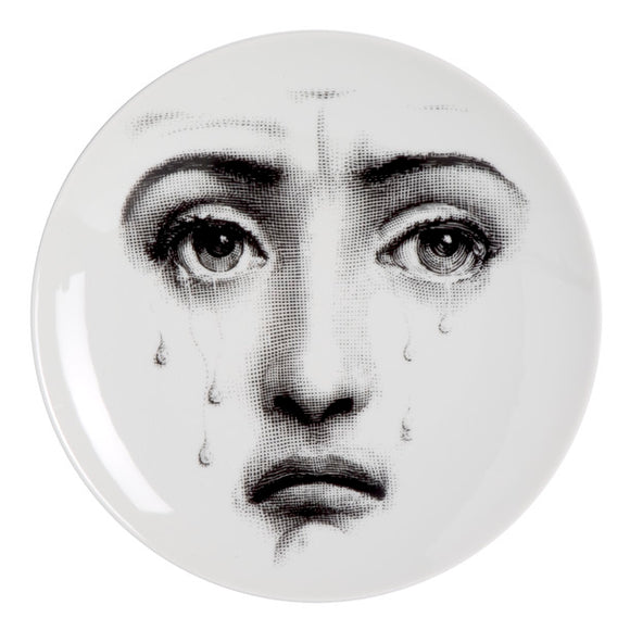 Fornasetti Wall Plate T&V 77 - Milk Concept Boutique