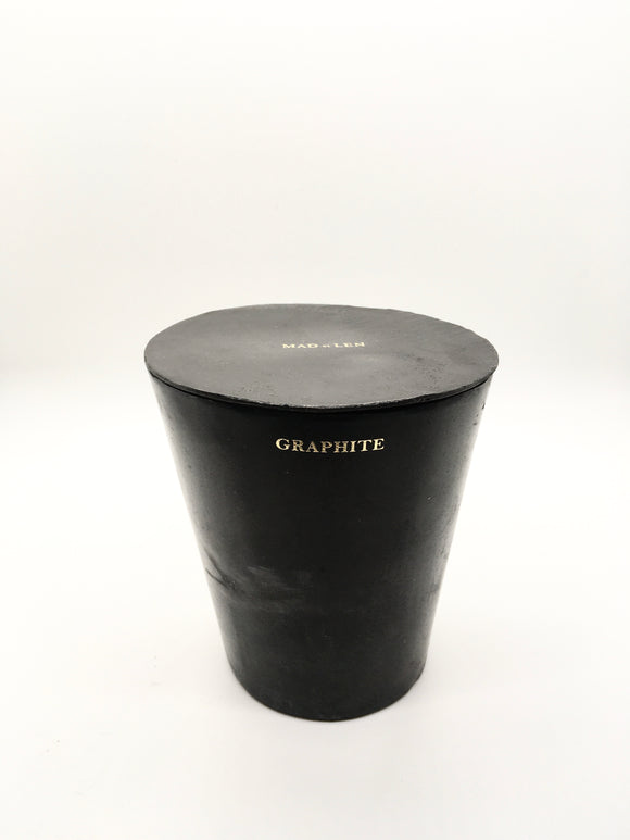 MAD ET LEN CANDLE, GRAPHITE - Milk Concept Boutique