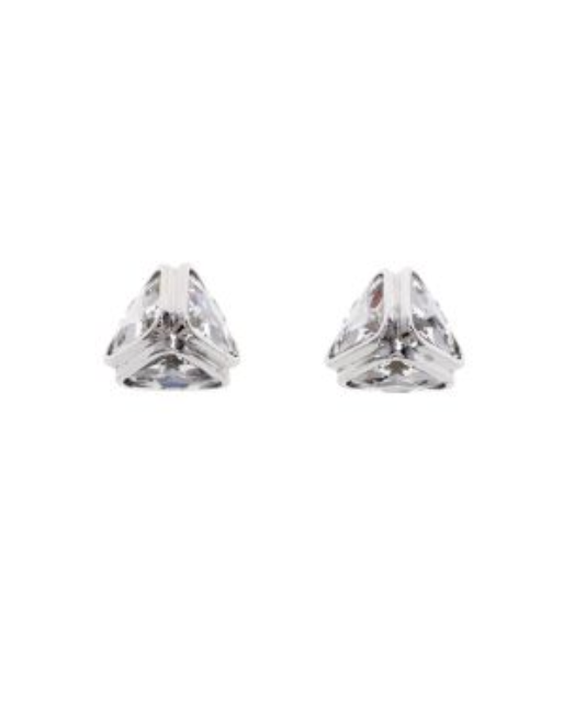 Ice Flow Crystal stud earrings - Milk Concept Boutique