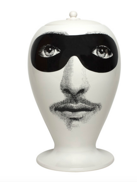 Fornasetti Vase Don Giovanni black/white