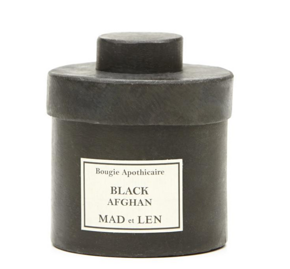 MAD ET LEN CANDLE, BLACK AFGHAN - Milk Concept Boutique