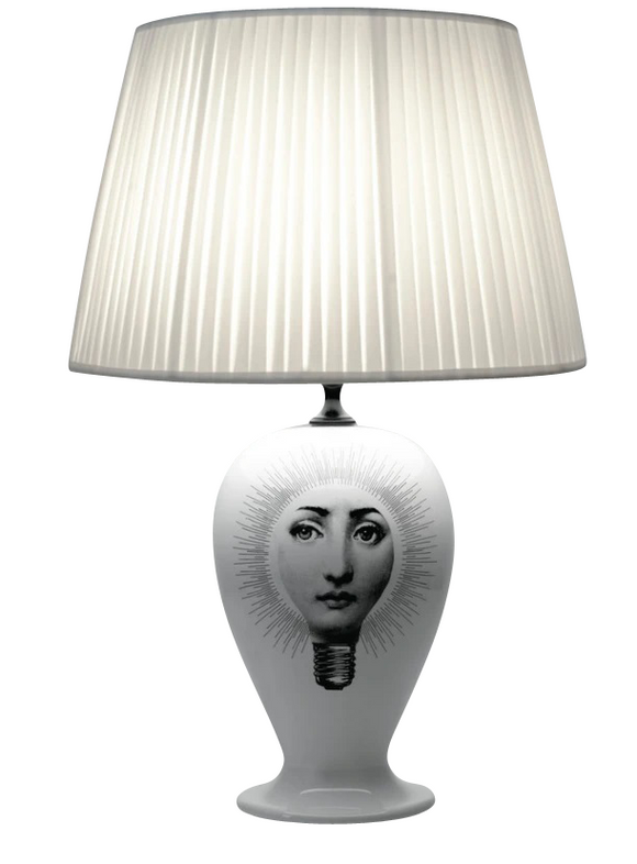 Fornasetti Lamp base Lampadina black/white - Milk Concept Boutique