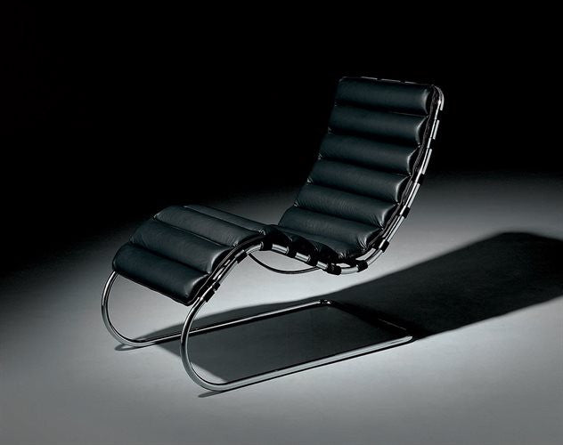 Classics Ludwig Mies Van Der Rohes Lounge Chair Milk Concept